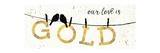 Shine Like Gold II Poster av Jess Aiken
