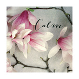 Poem Crop Calm Premium Giclee Print by Alicia Bock