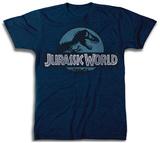 ジュラシック・ワールド - ロゴ Tシャツ