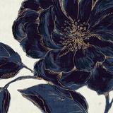 Indigo Garden II Print by Daphne Brissonnet