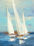 Summer Regatta III Art by Julia Purinton
