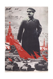 Stalin's Mood Makes Our Army and Country Strong and Solid! Giclee Print by Viktor Nikolaevich Deni