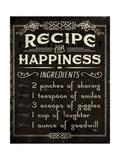 Life Recipes IV Posters by  Pela Studio