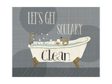 Squeaky Clean I Poster van Veronique Charron