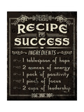 Life Recipes II Print by Jess Aiken