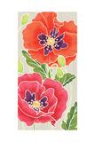 Sunshine Poppies Panel I Prints by Elyse DeNeige