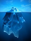 Eisberg Kunstdrucke von  adimas