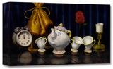 Hora del té (F.N.) Edición limitada en lienzo por Clinton Hobart