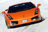 Lamborghini Gallardo mit Winterreifen Photographic Print by Hans Dieter Seufert