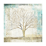 Solitary Tree Collage Premium Giclee Print by Avery Tillmon