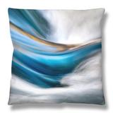So Gentle, So Furious Throw Pillow by Ursula Abresch