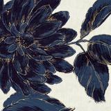 Indigo Garden I Prints by Daphne Brissonnet