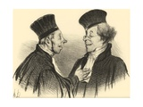 My Dear! You Fainted... Admirably. It Really Made a Lasting Impression! Giclee Print by Honoré Daumier