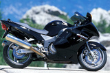 Honda CBR 1100 XX Super Blackbird Photographic Print by Rossen Gargolov