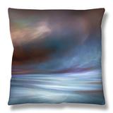 Storm Throw Pillow by Ursula Abresch