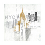 Empire State Building, New York Reproduction giclée Premium par Avery Tillmon