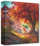 Autumn Leaves Gently Falling キャンバスプリント限定版 : ジェームス・コールマン