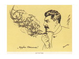The Stalin's Pipe Giclee Print by Viktor Nikolaevich Deni