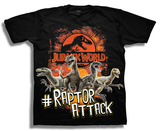 Youth: Jurassic World Raptors Attack Camisetas