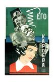 Movie Poster His Career Giclee Print by Nikolai Petrovich Prusakov