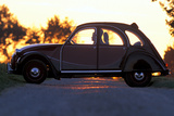 Citroen 2CV Charleston Photographic Print by Achim Hartmann