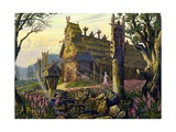 The Temple of Radegast, God of Summer Giclee Print by Vsevolod Borisovich Ivanov