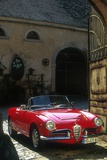 Alfa Romeo Giulietta Spider Photographic Print by Uli Jooss