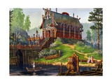 The Temple of Svantevit, God of Spring Giclee Print by Vsevolod Borisovich Ivanov