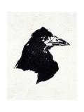 """Le Corbeau (The Raven) Illustration for the Poem """"The Raven"""" Reproduction procédé giclée par Édouard Manet"""
