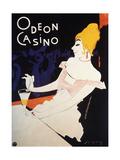 Odeon Casino Giclee Print by Walter Schnackenberg