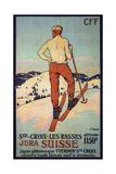 Les Rasses, Sainte-Croix Giclee Print by François Jacques