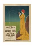 Concerts Ysaÿe Giclee Print by Henri Georges Meunier