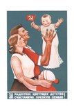For a Joyful and Healthy Childhood! Giclee Print by Viktor Iwanovich Govorkov