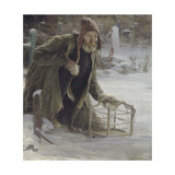 The Bird Catcher Giclee Print by Abram Yefimovich Arkhipov