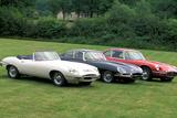 Jaguar E-Type Serie I, II und III Papier Photo par Uli Jooss