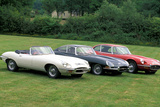 Jaguar E-Type Serie I, II und III Photographic Print by Uli Jooss