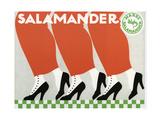 Salamander Shoes Giclee Print by Ernst Deutsch