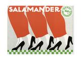 Salamander Shoes Giclee Print by Ernst Deutsch