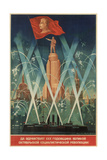 The 30th Anniversary of the Great October Socialist Revolution Giclee Print by V. Medvedev