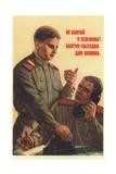 Don't Chatter by the Telephone! Giclee Print by Pyotr Semyonovich Golub