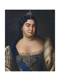 Portrait of Empress Catherine I. (1684-1727) Giclee Print by Heinrich Buchholz