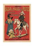 Grand Bazar Des Halles Et Des Postes Giclee Print by Fernand Fernel