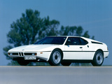 BMW M1 Photographic Print by Hans Dieter Seufert