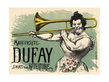 Marguerite Dufay Trombone Giclee Print by Louis Anquetin