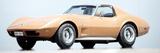 Hans Dieter Seufert - Corvette Stingray Fotografická reprodukce