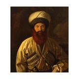 Portrait of Imam Shamil (1797-1871) Giclee Print by Emmanuil Alexandrovich Dmitriev-Mamonov