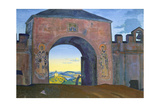 And We are Opening the Gates (From Sancta Series) Giclee Print by Nicholas Roerich