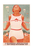 All the World Records Must to Be Ours Giclee Print by Viktor Iwanovich Govorkov
