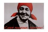 Happy Birthday, Komsomol! Giclee Print by Alexander Vladimirovich Faldin
