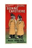 La Chicoree Bonne Cafetiere Giclee Print by Fernand Fernel